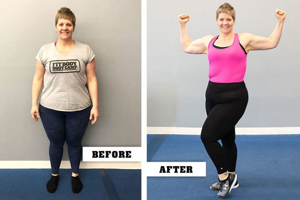 Fitness Before and After - Janelle Dykstra