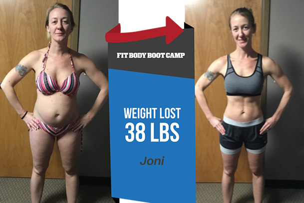 Fitness Before and After - Joni